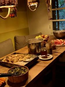 断食後のゴハン。食事を こしらえてくれる人がいて、野菜の命を頂いて、食べられるってありがたいなぁ